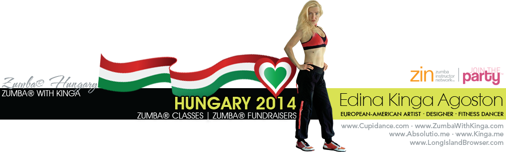 Zumba with Kinga Hungary 2014 - Classes Fundraisers Parties