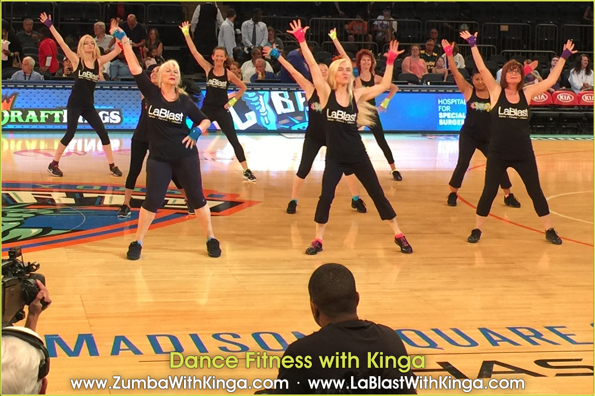 dance fitness with kinga at madison square garden 08 02 2015 28 - Madison Square Garden Official Web Site