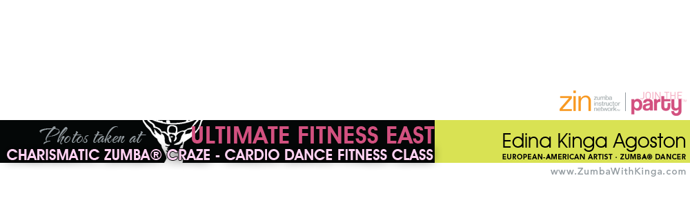 Zumba with Kinga - Charismatic Zumba Craze Cardio Dance Fitness Class