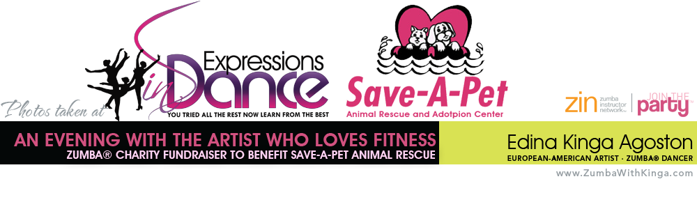Zumba with Kinga - Zumba Charity Fundraiser Event - Save-A-Pet Animal Rescue