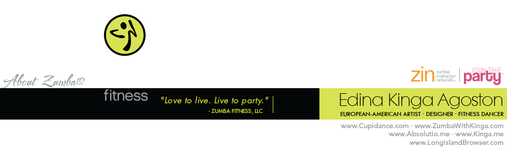 Zumba® Gigs and Fitness Classes on Long Island, New York with licensed Zumba® Instructor Kinga